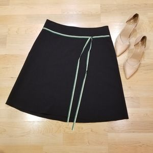 SpeechlesKnee Height Black Skirt 11